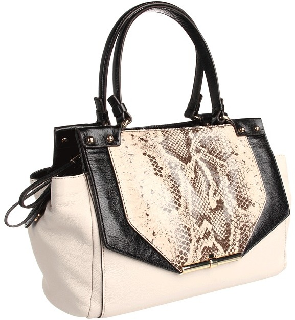 Vince Camuto Lana Satchel (Caviar/Tmoro) - Bags and Luggage
