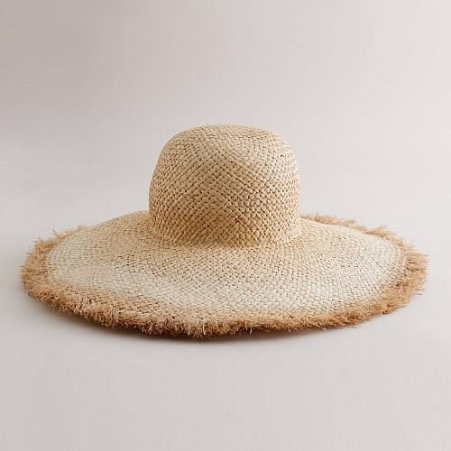 Ombré beach hat