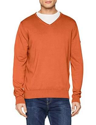Camel Active Men's V-Neck Pullover Jumper,(Size:)