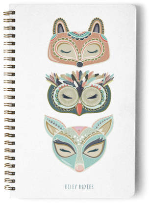 Into the Woods Day Planner, Notebook, or Address Book