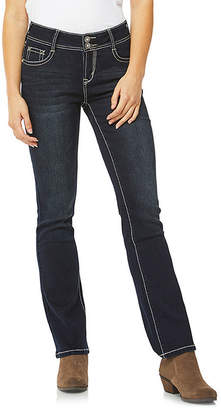 WALLFLOWER Wallflower Curvy Fit Bootcut Jeans-Juniors