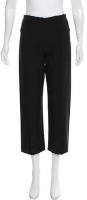 Marithé + François Girbaud Mid-Rise Cropped Pants