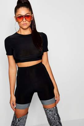 0cf7e23bca19fc Fitted Crop Top Sleeve - ShopStyle Australia