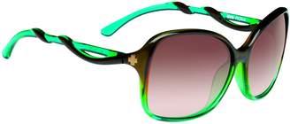 SPY Optic Fiona Sunglasses Mint Chip Fade/Happy Bronze Fade