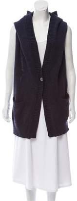 Zero Maria Cornejo Wool Open Back Cardigan