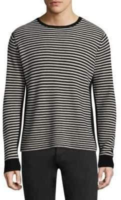 Ovadia & Sons Striped Wool Sweatshirt