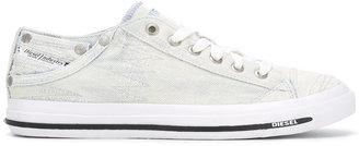 Diesel denim sneakers $146.99 thestylecure.com