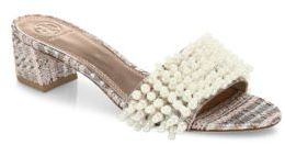 Tory Burch Tatiana Embellished Slide Sandals