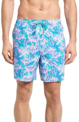Men's Vineyard Vines Turtle Starfish Bungalow Swim Trunks $89.50 thestylecure.com