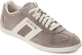 Diesel Grey Vintagy Lounge Happy Hours Low-Top Sneakers