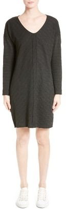 Women's Atm Anthony Thomas Melillo Textured Shift Dress $195 thestylecure.com