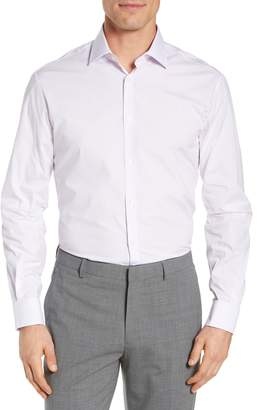 John Varvatos Regular Fit Stretch Solid Dress Shirt