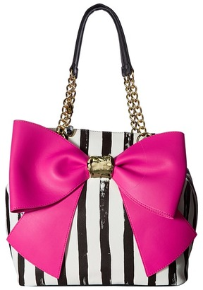 Betsey Johnson Bow and Arrow Tote $108 thestylecure.com