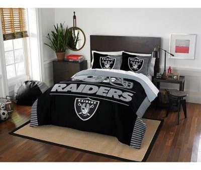 NFL Draft Oakland Raiders Full/Queen Comforter Set