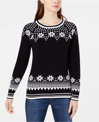 Tommy Hilfiger Cotton Fair Isle Sweater