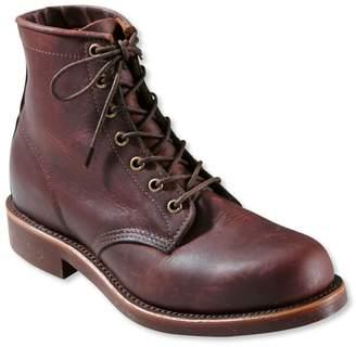 L.L. Bean L.L.Bean Men's Katahdin Iron Works Engineer Boots, Plain-Toe