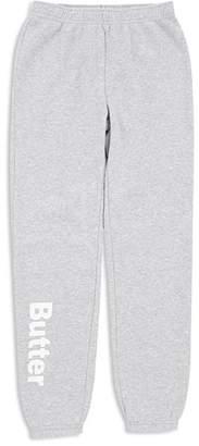 Butter Shoes Girls' Fleece Varsity Sweatpants, Little Kid, Big Kid - 100% Exclusive
