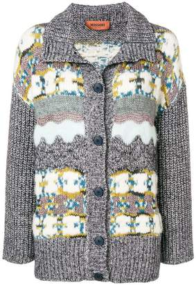 Missoni patterned chunky cardigan