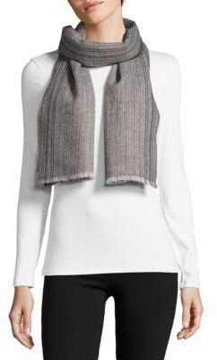 Textured Cashmere Scarf $250 thestylecure.com
