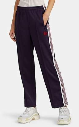 Needles Women's Striped Jersey Track Pants - Purple