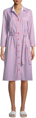 Evi Grintela Jerry Striped Poplin Shirtdress
