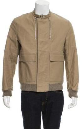 Christian Dior 2007 Woven Zip-Up Jacket