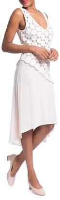 Plenty by Tracy Reese Women's Lace Combo Dress