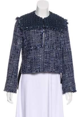 Sonia Rykiel Tweed Structured Jacket