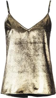Frame metallic camisole top