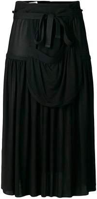 J.W.Anderson Pleated Jersey Midi Skirt