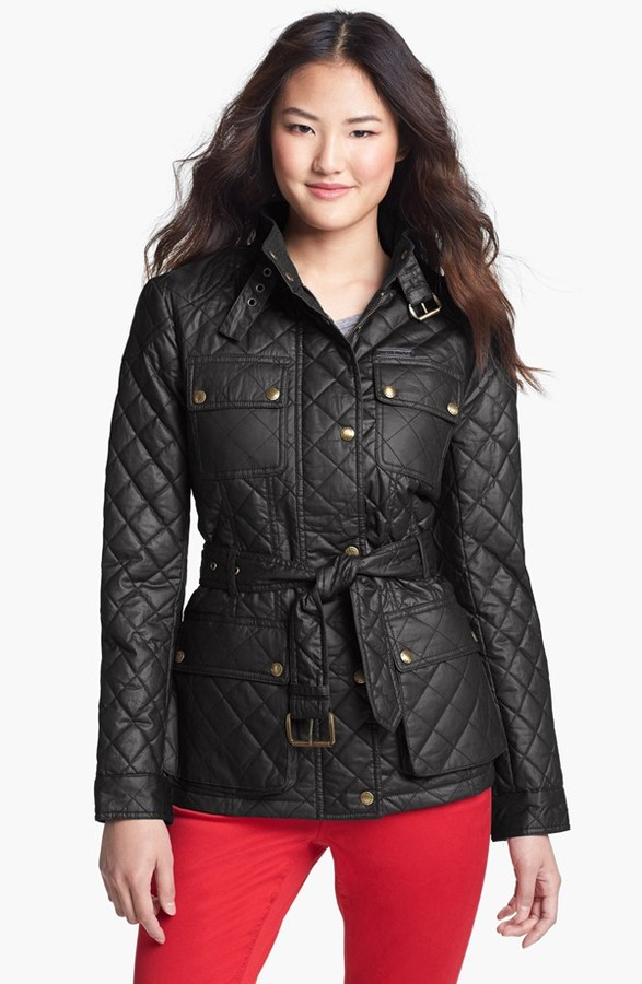 MICHAEL Michael Kors Quilted Field Jacket (Regular & Petite)