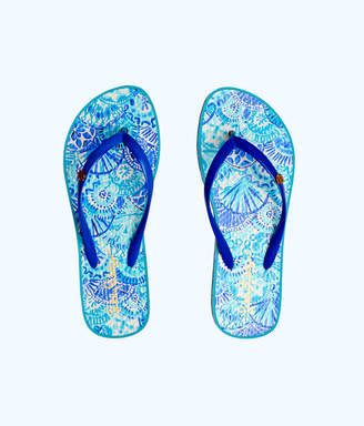 Lilly Pulitzer Pool Flip Flop