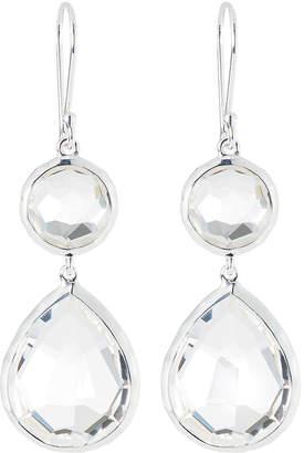 Ippolita Clear Quartz Snowman Earrings