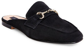 Steven By Steve Madden Razzi Suede Mules $89 thestylecure.com