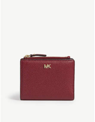 MICHAEL Michael Kors Logo leather folding wallet