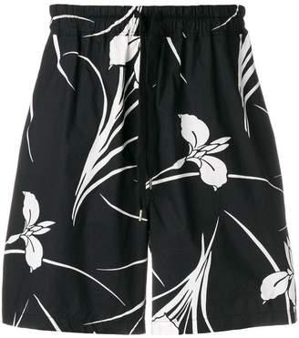 No.21 floral print shorts