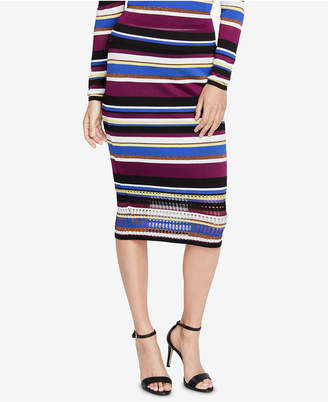 Rachel Roy Royal Striped Sweater Skirt, Created for Macy's