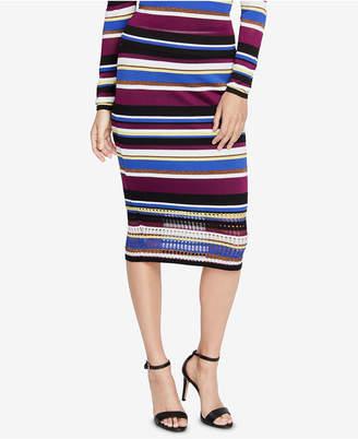 Rachel Roy Royal Striped Sweater Skirt