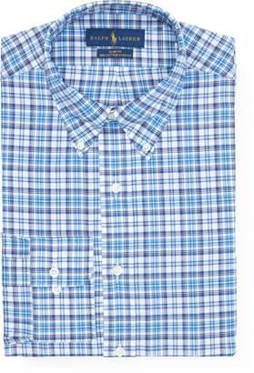 Ralph Lauren Slim Plaid Broadcloth Shirt