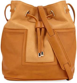 Urban Originals Textured Large Drawstring Bucket Bag
