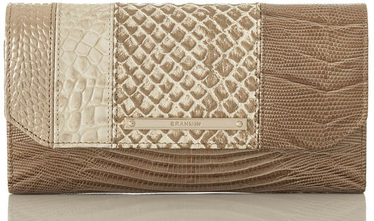 Brahmin Soft Checkbook Wallet Buena Vista