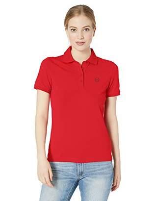 05ad56a5 Armani Exchange Women's Logo Collar Polo Shirt,X