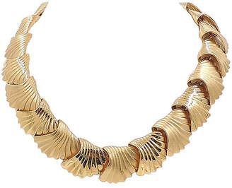 One Kings Lane Vintage Monet Scalloped Necklace - 1984 - Carrie's Couture