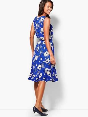 Talbots Floral Breeze Fit & Flare Dress