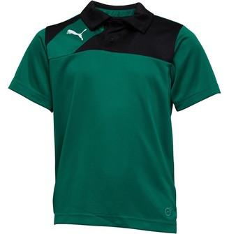Puma Junior Boys Esquadra Leisure Polo Green/Black