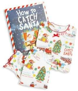 Books To Bed Toddler's& Little Girl's Two-Piece Printed Pajama& Book Set