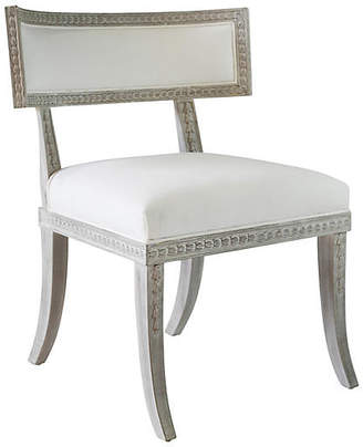 Ave Home Aria Side Chair - Whitewash