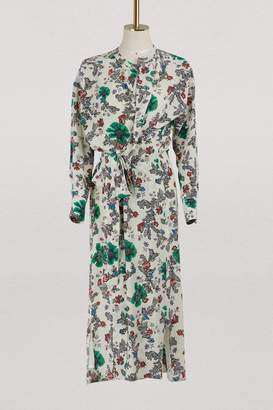 Isabel Marant Silk Calypso dress