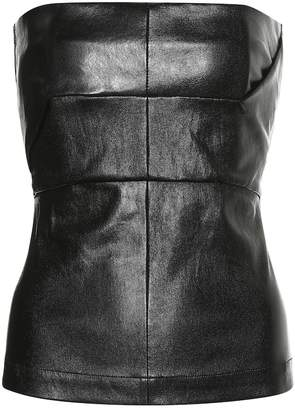 Rick Owens Leather bustier