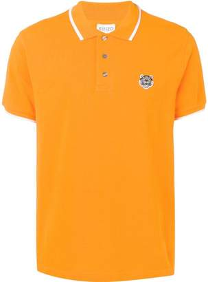 Kenzo logo knitted polo T-shirt